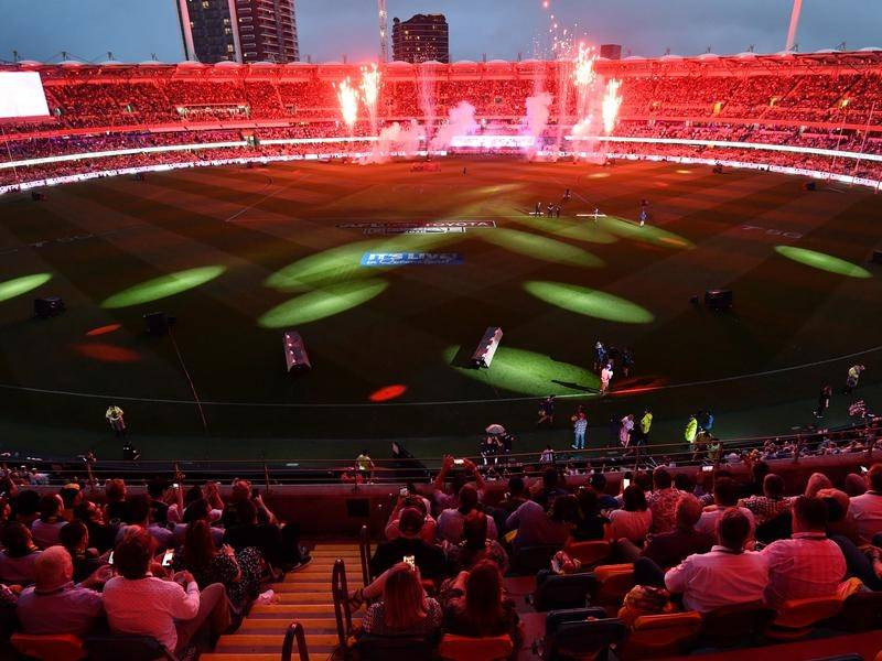 The AFL night grand final at the Gabba attracted a peak audience of 4.283 million viewers.